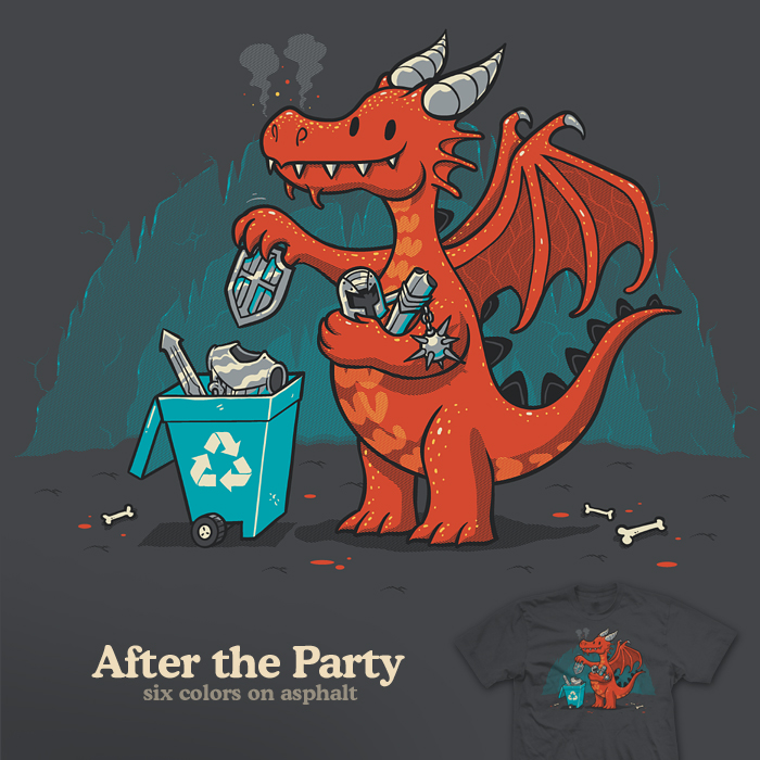 After the Party - tee by InfinityWave
