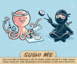 Sushi Me - tee by InfinityWave