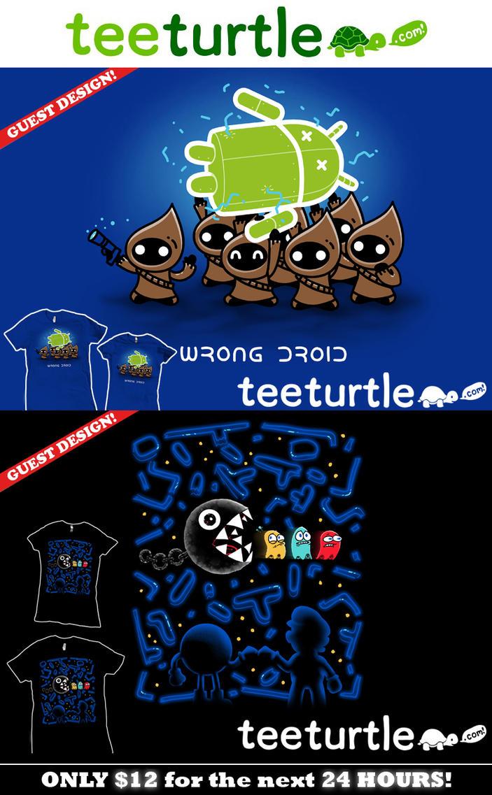 Wrong Droid / Teamwork at TeeTurtle by InfinityWave
