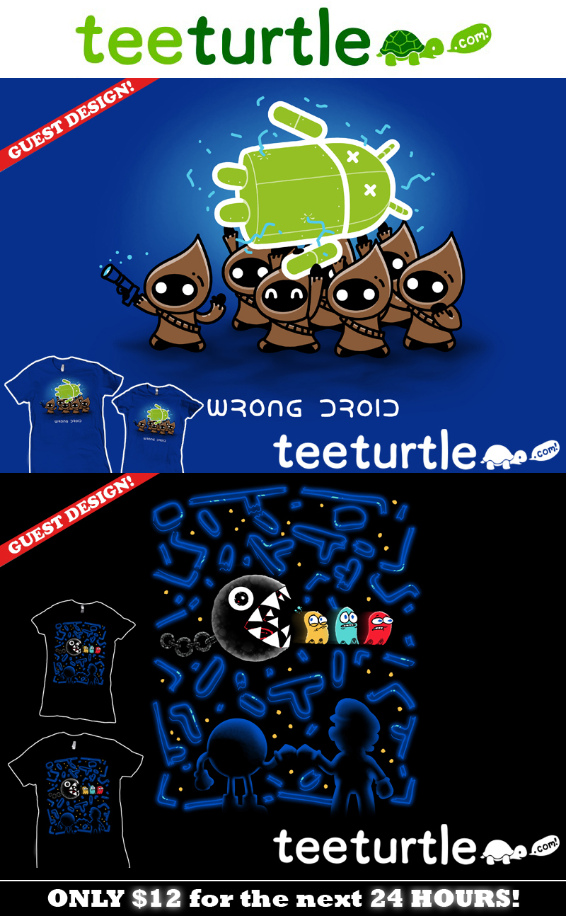 Wrong Droid / Teamwork at TeeTurtle by InfinityWave