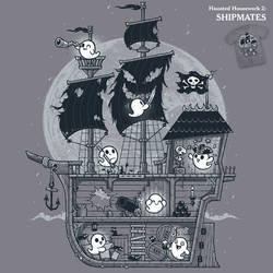 Ghost Shipmates - tee