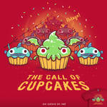 The Call Of Cupcakes - tee