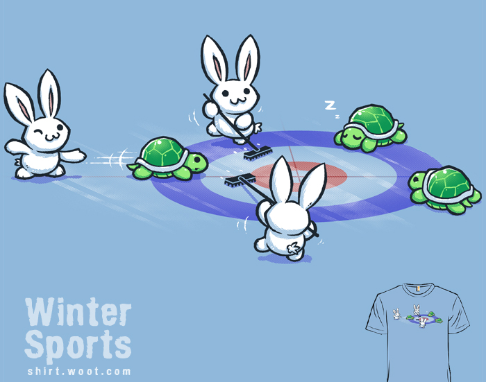 Winter Sports - tee by InfinityWave