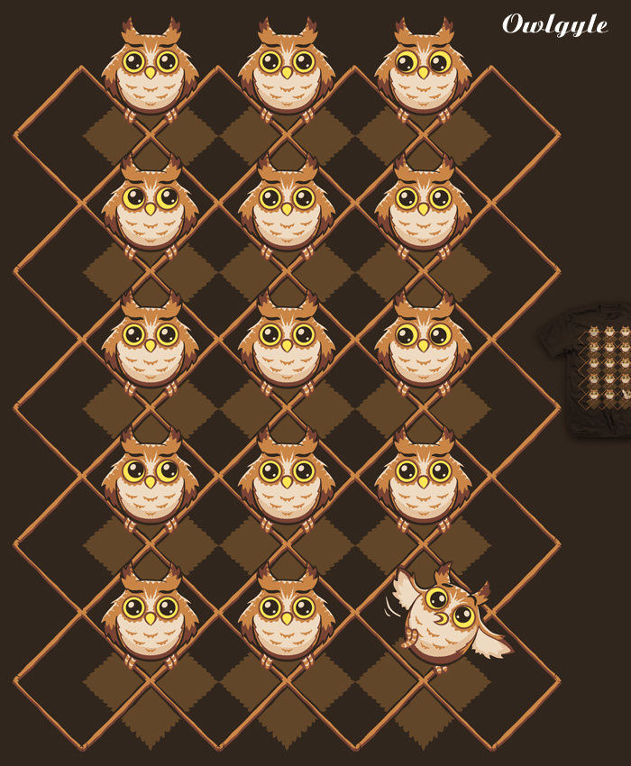 Owlgyle - tee by InfinityWave