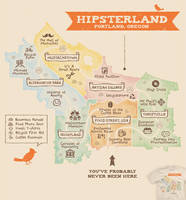 Hipsterland - tee by InfinityWave