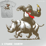 A Strange Country - tee