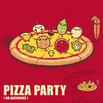 Pizza Party - tee