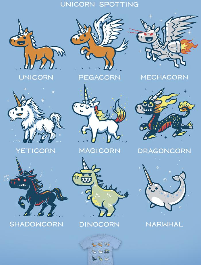 Unicorn Spotting - tee... Qilin