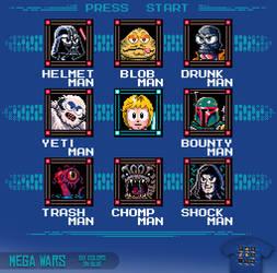 Mega Wars - tee