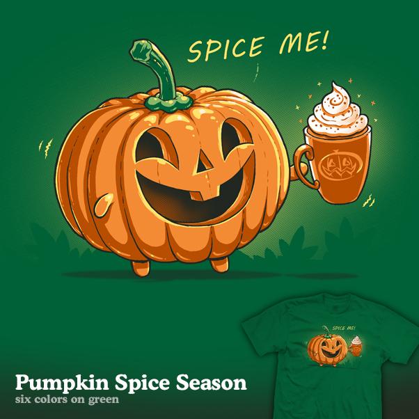 Pumpkin Spice Season - tee by InfinityWave