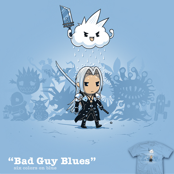 Bad Guy Blues - shirt by InfinityWave
