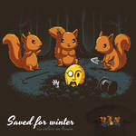 Saved for Winter - tee