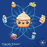 Cupcake Science - tee