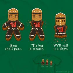 Gingerbread Knight - tee