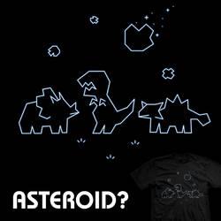 Asteroid? - tee by InfinityWave