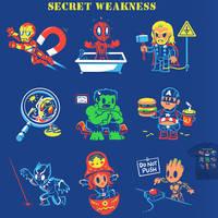 Secret Weakness - tee