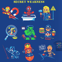 Secret Weakness - tee by InfinityWave