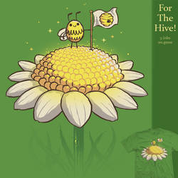 For The Hive - tee by InfinityWave