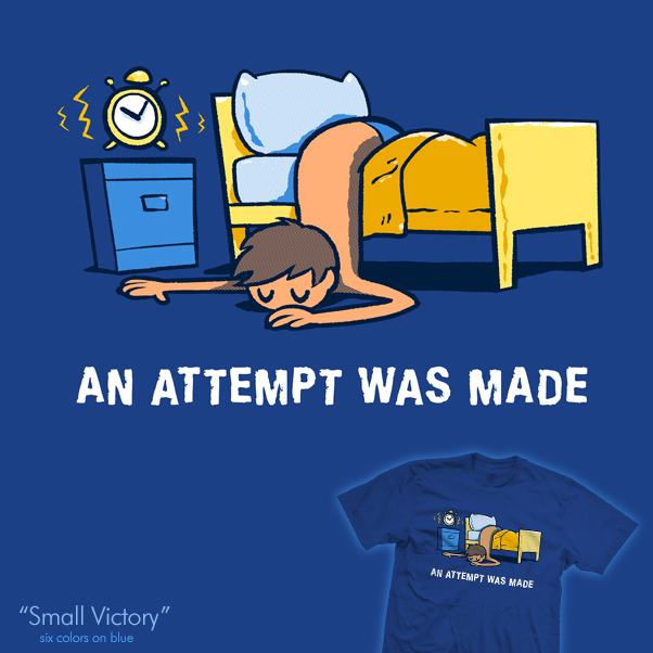 Small Victory - tee by InfinityWave