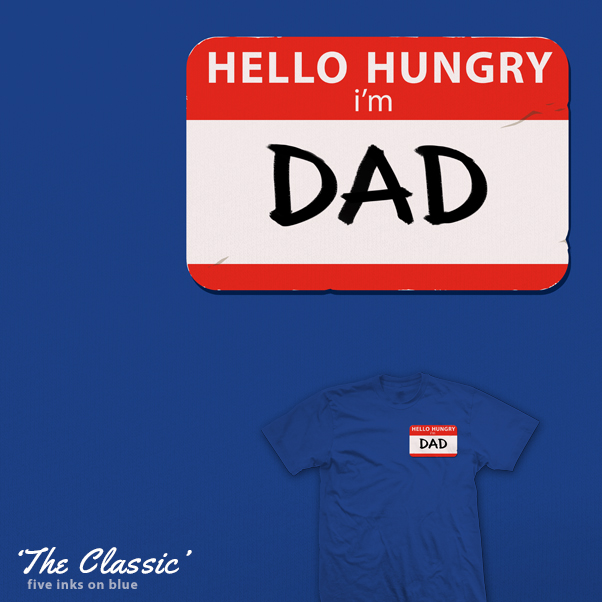 The Classic Dad Joke - tee by InfinityWave