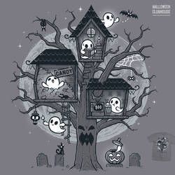 Halloween Clubhouse - tee