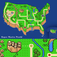 Super Murica World - tee by InfinityWave