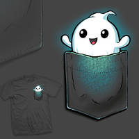 Pocket Ghost - tee by InfinityWave