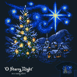 O Starry Night - tee by InfinityWave