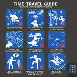 Time Travel Guide - tee by InfinityWave