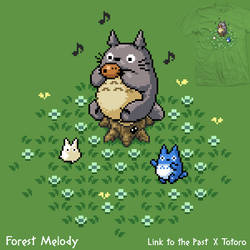 Forest Melody - tee by InfinityWave