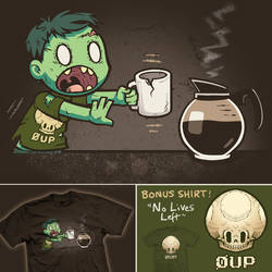 Morning of the Living Dead - two tees