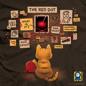 A Game of Cat and Mouse - tee