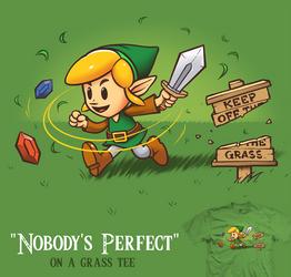 Nobody's Perfect - tee