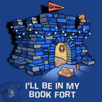 Book Fort - tee design