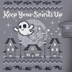 Halloween Spirit - sweater style tee