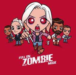 Full On Zombie Mode - iZombie fan art