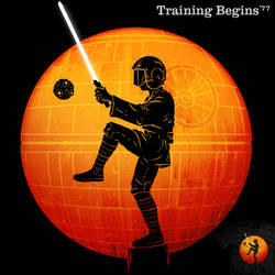 Training Begins '77 - tee