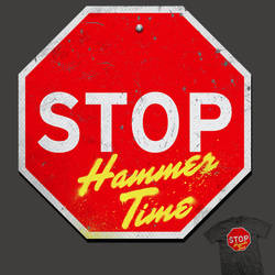 Stop, hammer time - tee