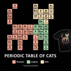 Cat Periodic Table - tee