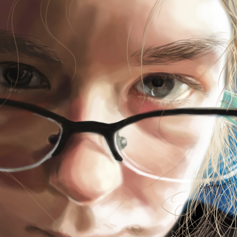 Self Portrait by StripeySharpie