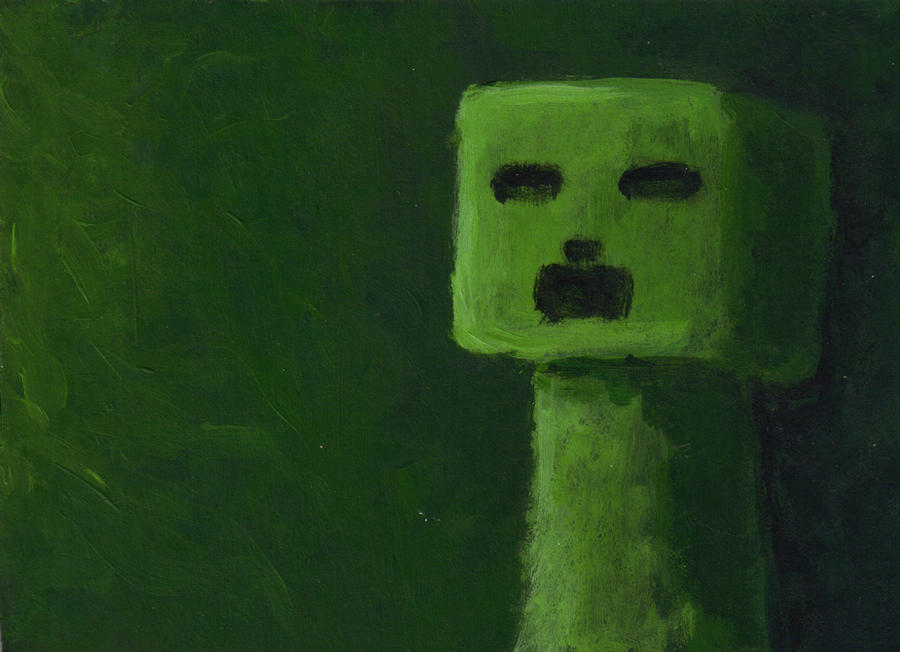 Painted Creeper by StripeySharpie