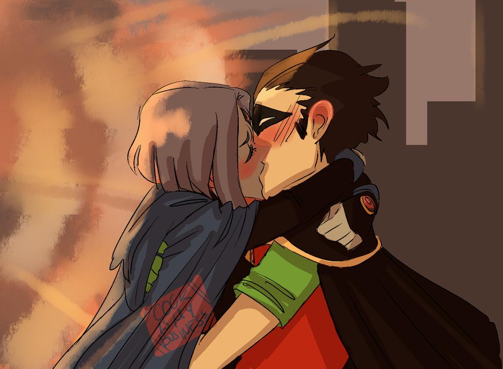 RobRae week:: First Kiss by OnionNekoRyuu