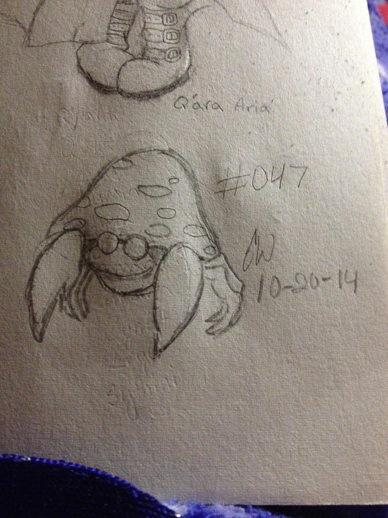 .:Pokemon Challenge:. #047 Parasect by AmyKittenFox