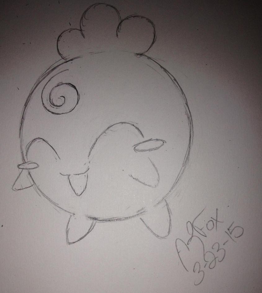 Pokemon Challenge 2 #174 Igglybuff by AmyKittenFox