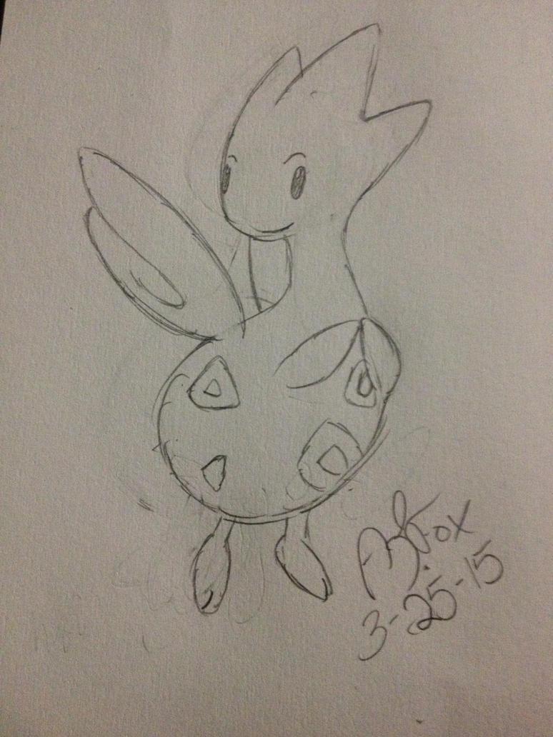 Pokemon Challenge 2 #176 Togetic by AmyKittenFox