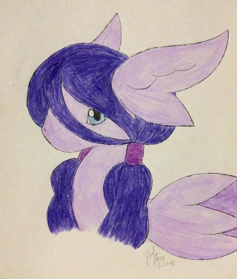 Seraph pony: Lilac by AmyKittenFox