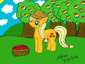.:Zap Apple Season:. Applejack ~MLP:FiM~ by AmyKittenFox