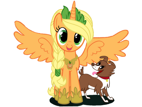 Princess Applejack vector