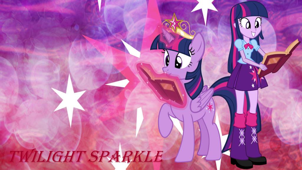 Twilight Pony Eg Wallpaper By Pegasister1000