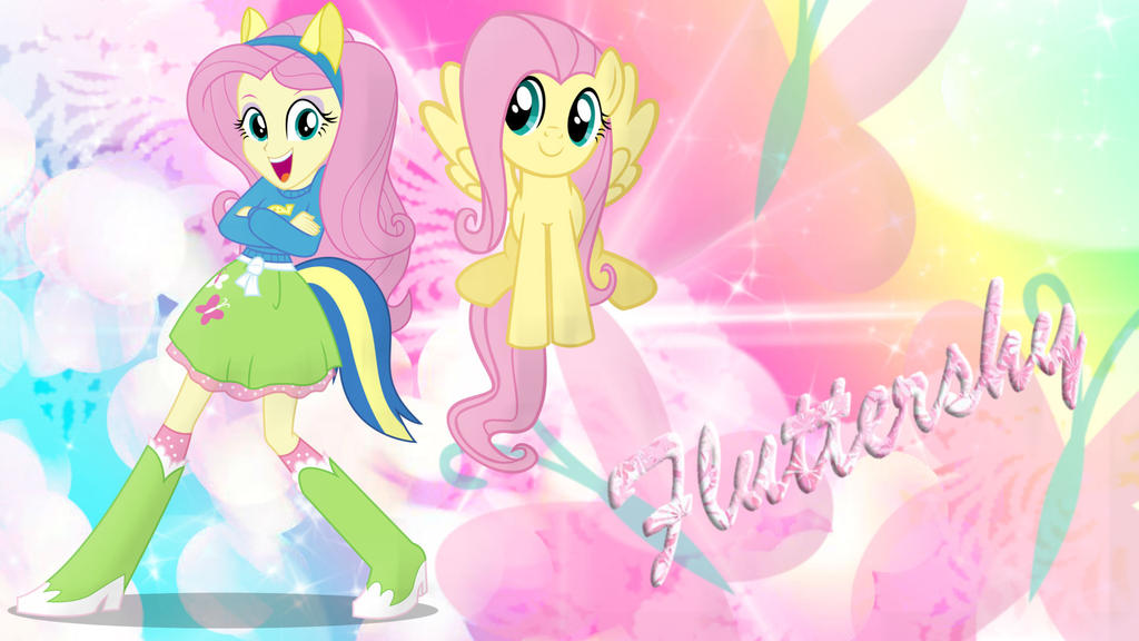 My Little Pony Fluttershy And Big Mac - Hot Girls Wallpaper